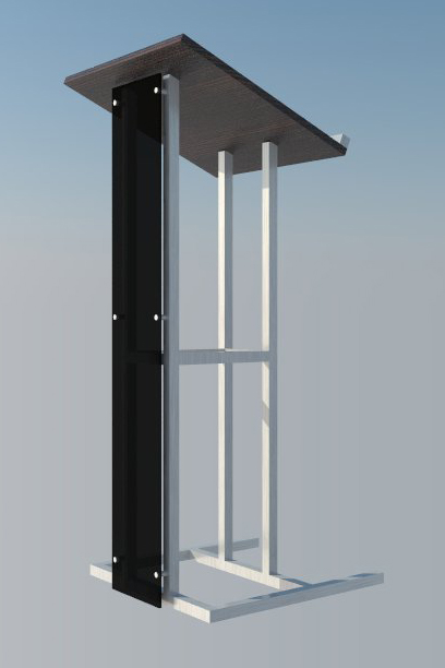 From 3D to Ready: Lectern (rendered)